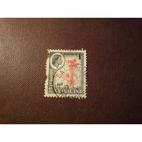 Родезия и Ньясаленд 1959 г.Королева Елизавета II.Антенная мачта.
