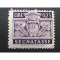 Сан-Марино 1945 герб