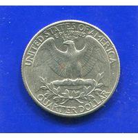 США 25 центов 1988