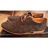 Мужские туфли из замши - ''Респект''