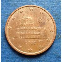 Италия 5 евроцентов 2007