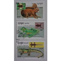 Камбоджа.1993.животные