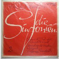 LP Franz Schubert - Staatskapelle Dresden, Wolfgang Sawallisch - Sinfonie #3 D-dur / Sinfonie #4 E-moll (1968)