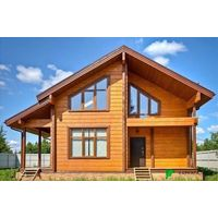 Каркасный Дом под ключ 9.6х10.5 м проект Квебек
