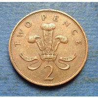 Великобритания 2 пенса 1987