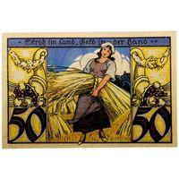 РАСПРОДАЖА!!! - ГЕРМАНИЯ ТВИСТРИНГЕН (Нижняя САКСОНИЯ) 50 пфеннигов 1921 год - UNC!