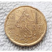 20 евроцентов 2000 Франция #03