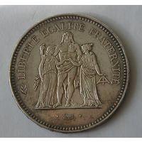 Франция, 50 Франков 1978 Серебро (103)