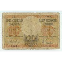 Албания, 10 лек 1940-44 год. Оккупация.
