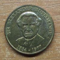 Ямайка 1 доллар 1993 _РАСПРОДАЖА КОЛЛЕКЦИИ