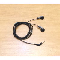 Наушники-вкладыши ACME (3.5 мм) с регулятором громкости. Длина кабеля: 1.10м. Чёрно-серый цвет.