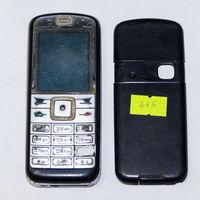 445 Телефон Nokia 6070 (RM-166). По запчастям, разборка