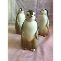 Статуэтка фарфоровая пингвин Пиго, ЛФЗ. СССР