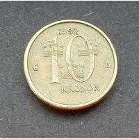 10 крон 1992 (тип 1991-2000) Швеция