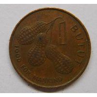 Гамбия 1 бутут 1974 г