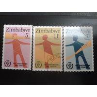 Зимбабве 1981 межд. год инвалидов