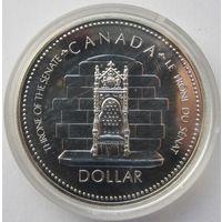 Канада 1 доллар 1977 25 лет коронации Елизаветы II