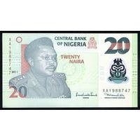 Нигерия / NIGERIA_2011_20 Naira_P#34.g_UNC