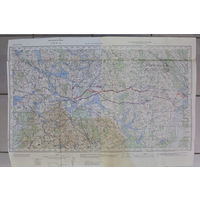 Оригинальные карты Генерального штаба РККА 1932 и 1936 годов-решение  о нанесении удара из города Августов по  немецкому  городу Ликк.