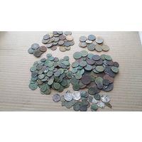 Сборный лот монет. Больше 300 штук.