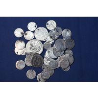 Коллекция царских серебренных монет, вес 117.25 гр.С РУБЛЯ! АУКЦИОН!!!