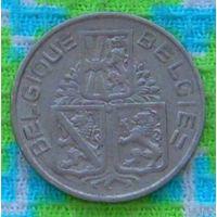 Бельгия 1 франк 1939 года. Лев.