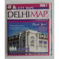 Карта Дели (Индия)