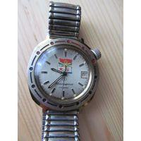 Часы командирские СССР на 17 камнях, редкие, полностью рабочие.