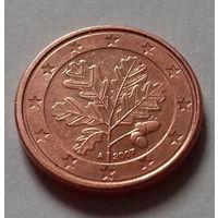 1 евроцент, Германия 2007 A