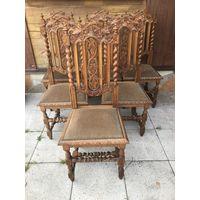Набор стульев антикварных 6  штук - в хорошем состоянии
