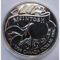 Канада, доллар, 1996, серебро