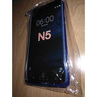 Силиконовый бампер для Nokia 5. Защитное стекло в подарок.