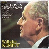 LP Beethoven, Wilhelm Kempf - Klaviersonaten (1980)