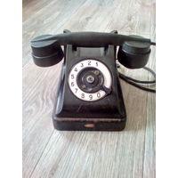 Телефон карболитовый