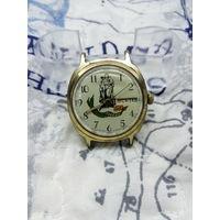 Часы Очень Редкие Слава 50 лет победы позолота 10 микрон  ,НА ХОДУ , старт с одного рубля .