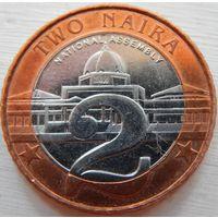 3. Нигерия 2 наира 2006 год
