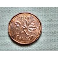 Канада 1 цент 1992 (юбилейный)