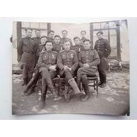 Группа военных 50-е.