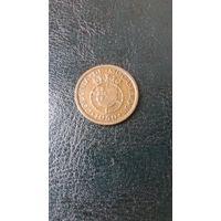 Колония МОЗАМБИК 20 сентавос 1950 год(отличная)