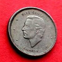 02-08 Доминиканская Республика, 10 сентаво 1986 г. Единственное предложение монеты данного года на АУ