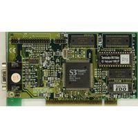 Terminator 64/Video - ретро-видеокарта PCI 2MB на чипе S3Trio64V+