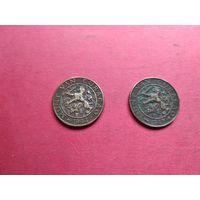 Кюрасао редкие 1 цент 1944 и 1947 с 1 копейки без минимальной цены -9-452