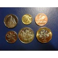 Кабо Верде 6 монет одним лотом-последний комплект