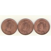 1 цент 1978, 1982, 1983 г.