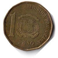 Доминикана. 1 песо. 2016 г. Единственное предложение данного года на АУ