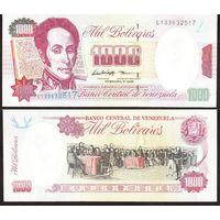ВЕНЕСУЭЛА 1000  БОЛИВАР  1998 год UNC