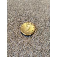 Болгария 5 стотинок 2000