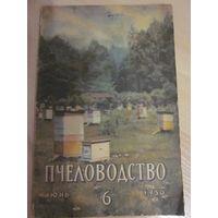 "Журнал ""Пчеловодство""  N 6 за 1950 год"