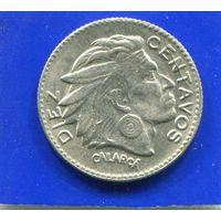 Колумбия 10 сентаво 1954