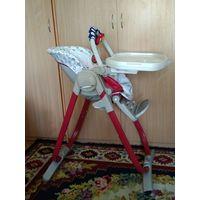 Продам стульчик для кормления Chicco Polly Magic 3 в 1. 0+ Минск